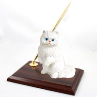 White Persian Pen Set