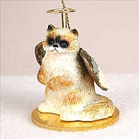 Ragdoll Pet Angel Ornament