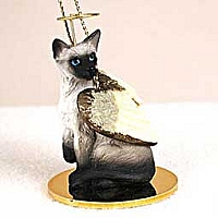 Siamese Pet Angel Ornament