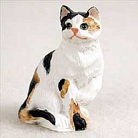 Calico Shorthaired Tiny One Figurine