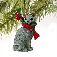 Blue Cornish Rex Original Ornament