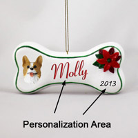Welsh Corgi Pembroke Bone Ornament (Personalize-It-Yourself)