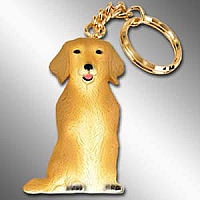 Golden Retriever Best Friends Key Chains