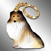 Sheltie Sable Best Friend Key Chains
