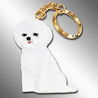 Bichon Frise Best Friends Key Chains
