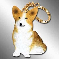 Welsch Corgi Pembroke Best Friends Key Chains