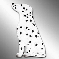 Dalmatian Best Friends Magnet