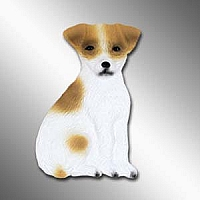 Jack Russell Terrier Brown & White w/Smooth Coat Best Friends Magnet