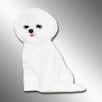 Bichon Frise Best Friends Magnet
