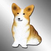 Welsch Corgi Pembroke Best Friends Magnet