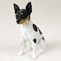 Rat Terrier Standard Figurine