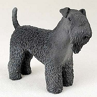 Kerry Blue Terrier Standard Figurine
