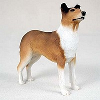 Collie Smoth Hair Standard Figurine
