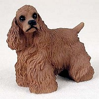 Cocker Spaniel Brown Standard Figurine