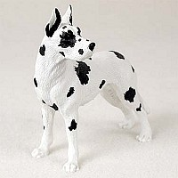 Great Dane Harlequin Standard Figurine