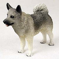 Norwegian Elkhound Standard Figurine