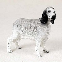 English Setter Belton Blue Standard Figurine