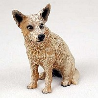 Australian Cattle Red Dog Standard Figurine