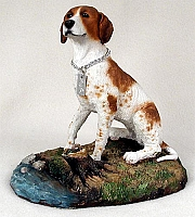 Pointer Brown & White My Dog Figurine
