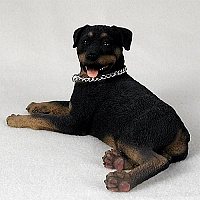 Rottweiler My Dog Figurine