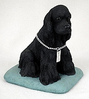 Cocker Spaniel Black My Dog Figurine