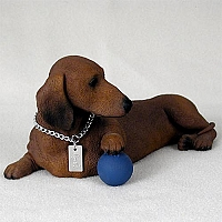 Dachshund Red My Dog Figurine