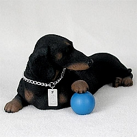 Dachshund Black My Dog Figurine