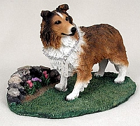Sheltie Sable My Dog Figurine