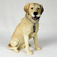 Labrador Retriever Yellow My Dog Figurine