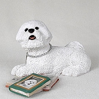 Bichon Frise My Dog Figurine