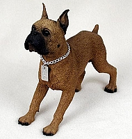 Boxer Tawny My Dog Figurine