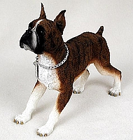 Boxer Brindle My Dog Figurine