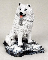 Samoyed My Dog Figurine