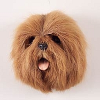 Lhasa Apso Brown Fur Magnet