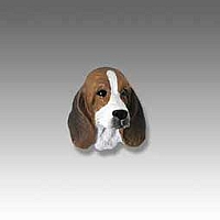 Basset Hound Tiny One head