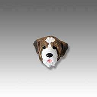 Saint Bernard w/Smooth Coat Tiny One head
