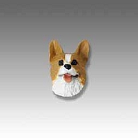 Welsh Corgi Pembroke Tiny One head