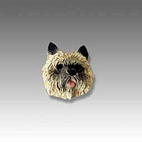 Cairn Terrier Red Tiny One head
