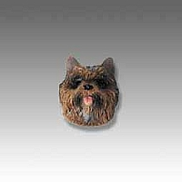 Cairn Terrier Brindle Tiny One head