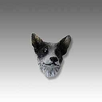Australian Cattle BlueDog Tiny One head