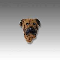 Bullmastiff Tiny One head