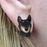 Belgian Tervuren Earrings Post