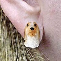Petit Basset Griffon Vendeen Earrings Post