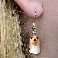 Petit Basset Griffon Vendeen Earrings Hanging