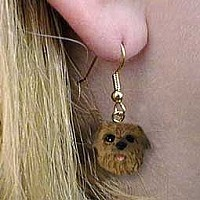Norfolk Terrier Earrings Hanging