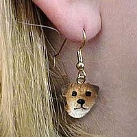 Border Terrier Earrings Hanging