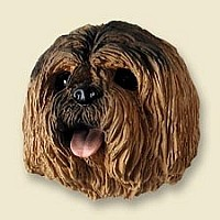 Lhasa Apso Brown Doogie Head