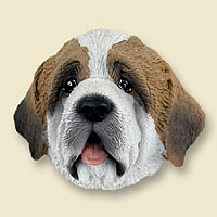Saint Bernard w/Rough Coat Doogie Head