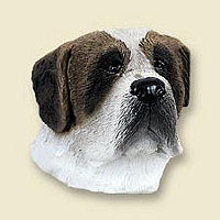Saint Bernard w/Smooth Coat Doogie Head