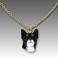 Chihuahua Black & White Tiny One Pendant